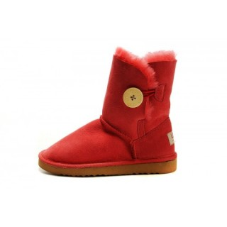 Avignon Ugg Bailey Button Enfants 5991 Rouge