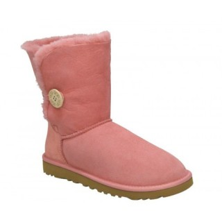 Bottes Ugg Classic Bailey Button 5803 Rose