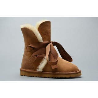 Bottes Ugg Classic Roxy Court Bandage 1005828 Chestnut Catalogue