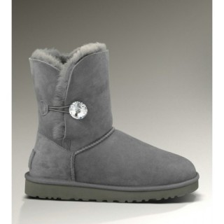 Boutique Ugg Bailey Button Bling Bottes 3349 Gris