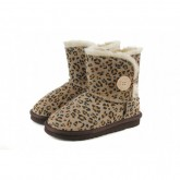 Boutique Ugg Bailey Button Enfants Africaine Leopard 5991