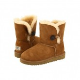 Cannes Ugg Bailey Button Enfants Chataigne 5991 Dégagement