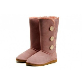 Magasin Ugg Bottes Bailey Button Triplet 1873 Rose