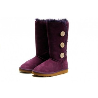 Magasin Ugg Bottes Bailey Button Triplet 1873 Violet