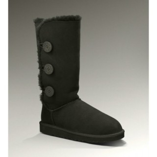 Outlet Ugg Bottes Bailey Button Triplet 1873 Noir