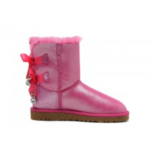 Ugg Bailey Bow Bling I Do! 1004140 Bottes Rose