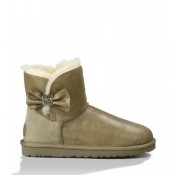 Ugg Bailey Bow Mini Cristal 1004948 Beige