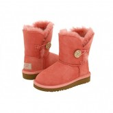 Ugg Bailey Button Enfants 5991 Rose Bon Marché