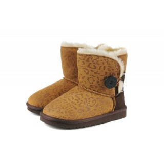 Ugg Bailey Button Enfants Leopard 5991