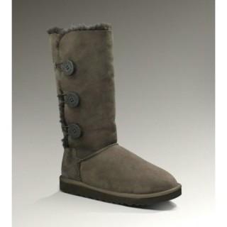 Ugg Bottes Bailey Button Triplet 1873 Chocolat