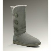 Ugg Bottes Bailey Button Triplet 1873 Gris De Noel