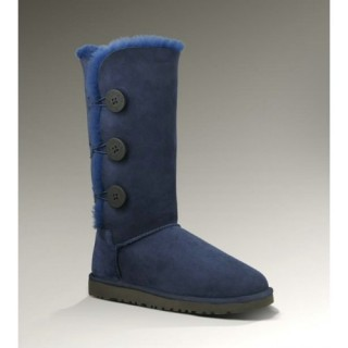 Ugg Bottes Bailey Button Triplet 1873 Marine