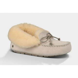 Ugg Boutique Alena 1004806 Chaussons Blanc