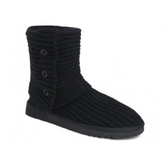 Ugg Classic Cardy Bottes 5819 Noir Christmas