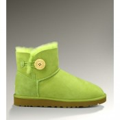 Ugg Femme Mini Bailey Button 3352 Fluorescent Vert