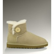 Ugg Femme Mini Bailey Button 3352 Sable De Noel Catalogue