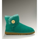 Ugg Femme Mini Bailey Button 3352 Vert Noel