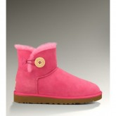 Ugg Femme Mini Bailey Button Bottes 3352 Rose