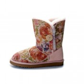 Ugg Femme Rose Bailey Button Rose 5803