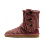 Ugg Marseille Classic Cardy Bottes 5819 Rouge