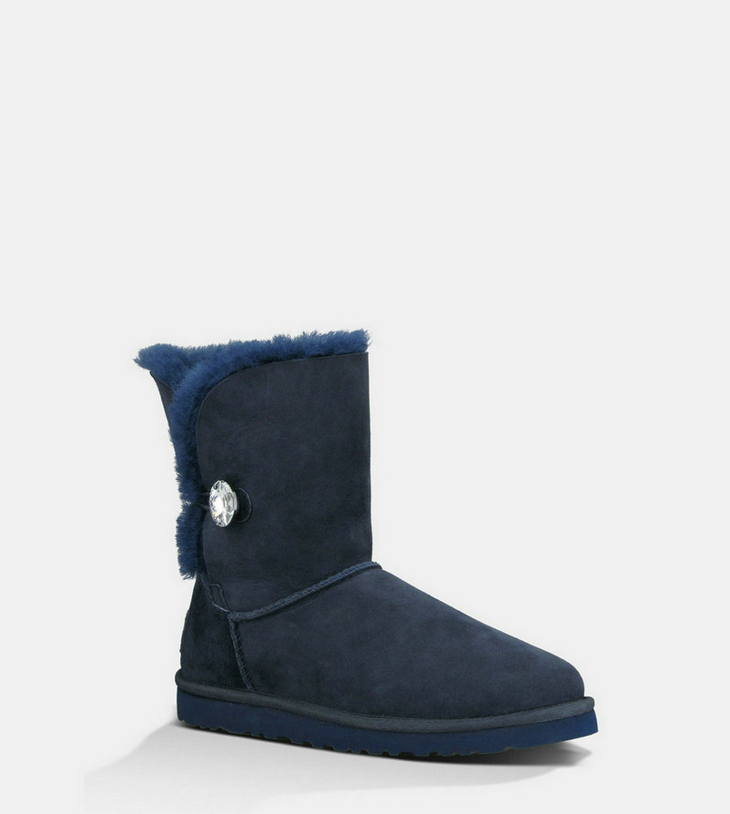 UGG Bailey Button Bling Bottes 3349 Marine À vendre