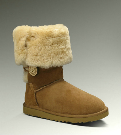 UGG Bailey Button Triplet Bottes 1873 Chataigne