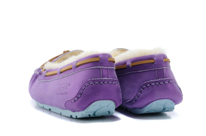 2015 UGG Mocassins 2494 Violet Sale Clearance