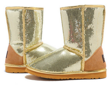 UGG Classic Short Sparkles Bottes 3161 or USA