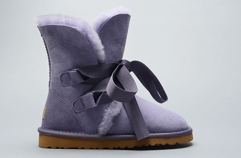 UGG Classic Roxy court Bandage 1005828 Bottes Vente Violet Clearance