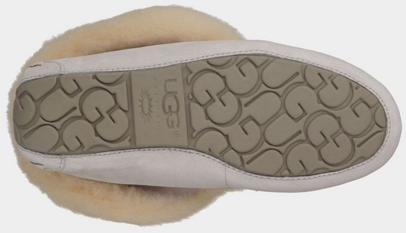 UGG Femmes Alena 1004806 chaussons blanc Outlet