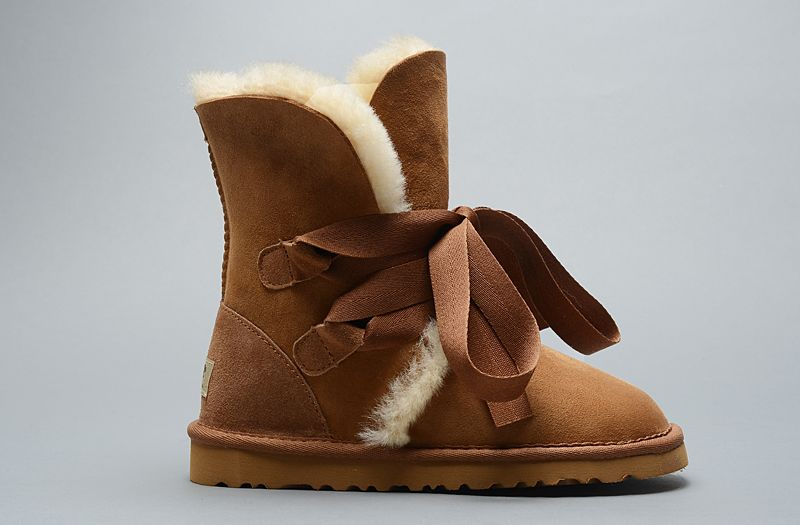 UGG Classic Roxy court Bandage 1005828 bottes Chestnut Cheap Sale