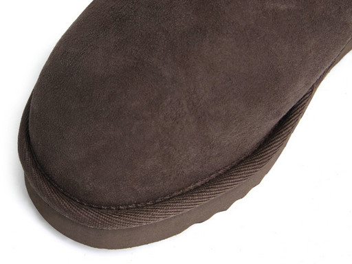 UGG Classic Mini Hommes Bottes 5854 Chocolat Outlet Store