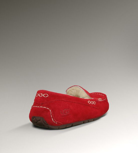 UGG Ansley 3312 chaussons de Noel Rouge