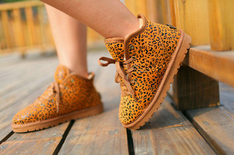 UGG Femmes 5986 Chaussures Leopard Sale Clearance