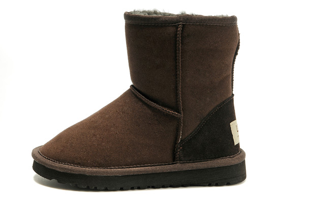 UGG Classic Short 5281 enfants Bottes Chocolat Outlet Sale