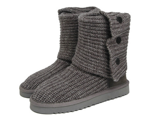 UGG Femmes Classic Cardy Bottes 5819 Gris