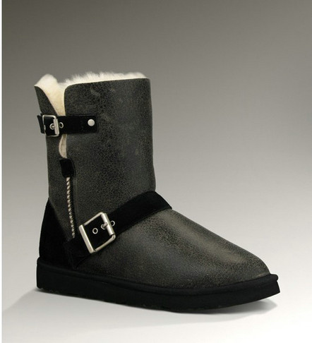 UGG Classic Short Bottes DYLYN 1001202 Noir USA Vente