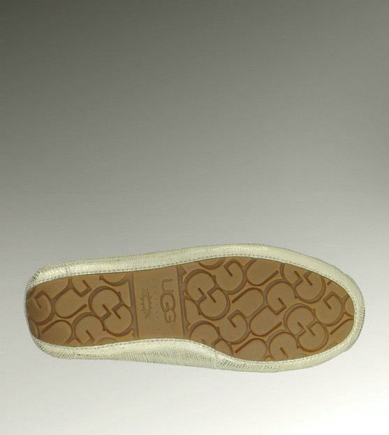 UGG Dakota 1002807 Lizard chaussons Or Outlet USA