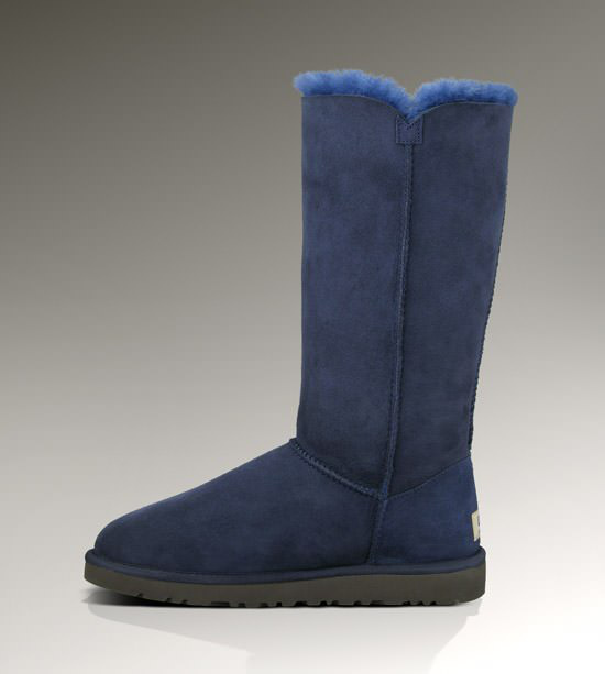 UGG Bailey Button Triplet Bottes 1873 Marine Outlet Store