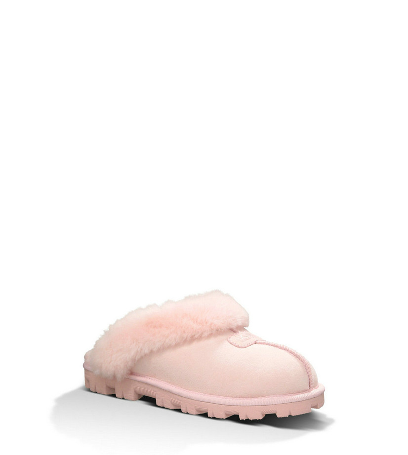 UGG Femmes Coquette 5125 chaussons rose noir