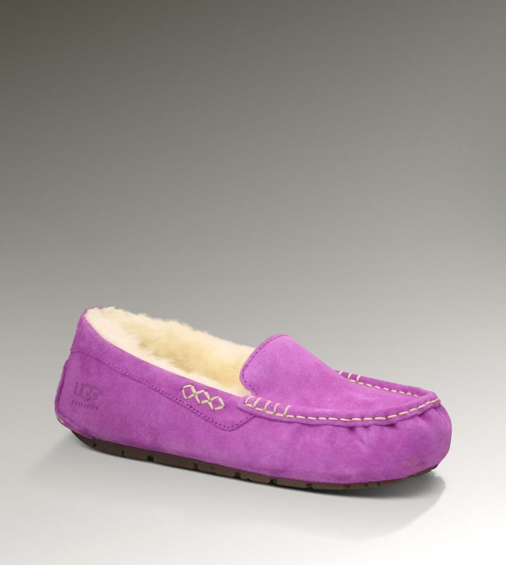 UGG gros Ansley 3312 chaussons Violet