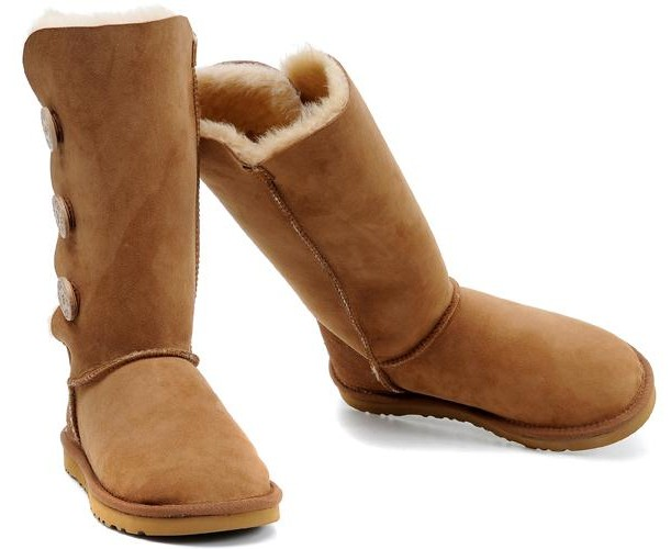 Liquidation UGG Bottes Bailey Button Triplet 1873 brun