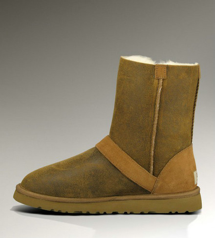 UGG Classic Short Bottes DYLYN 1001202 Chataigne Online