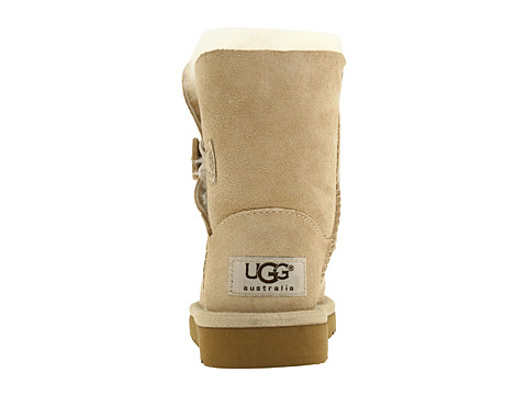 UGG Bailey Button Enfants 5991 sable Outlet