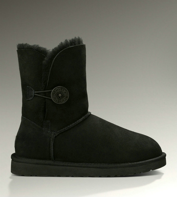 Bottes UGG Classic Bailey Button 5803 noir Christmas