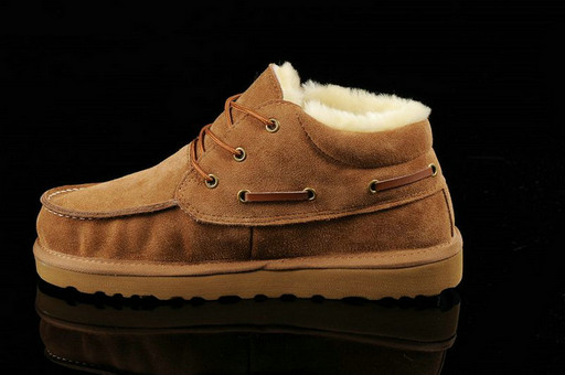 UGG Hommes Beckham Suede 5877 Chataigne Sale Clearance
