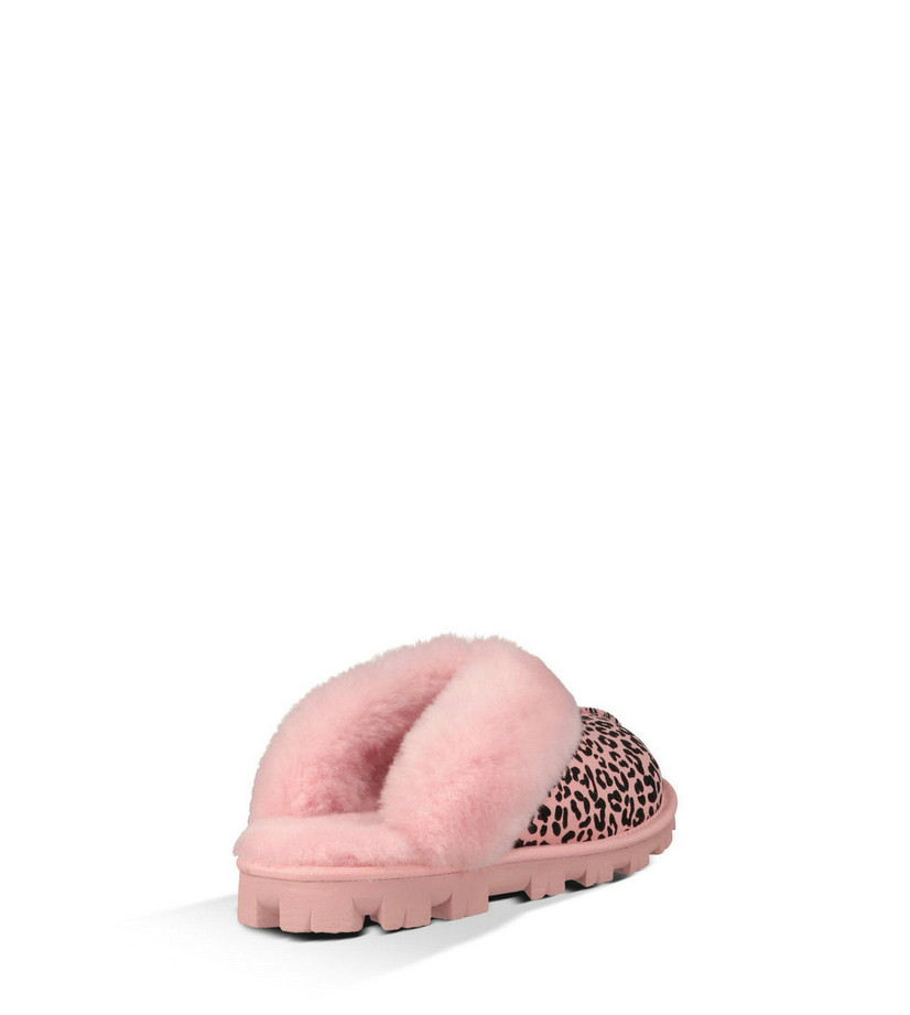 Vente pas cher UGG Femmes Coquette Rosette 1006029 chaussons rose