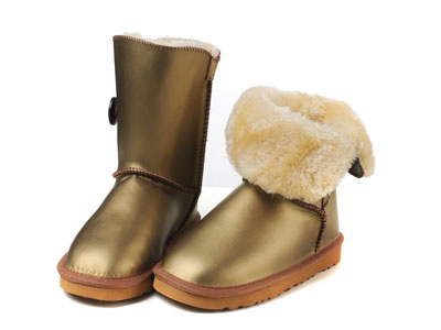 UGG Bottes New Bailey Button Bomber 5838 Christmas or